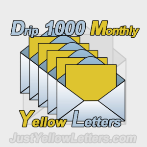 Yellow Letter Drip 1000 Monthly is a FANTASTIC Yellow Letter Drip campaign for Real Estate Investors who do Rehabs and Remodels.